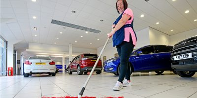 Car Show Room Cleaning